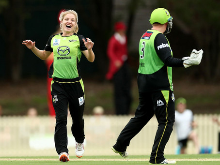 Courtney Webb resigns with Cricket Tas