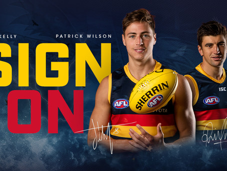 Patty Wilson re-signs with the Adelaide Crows for 2020