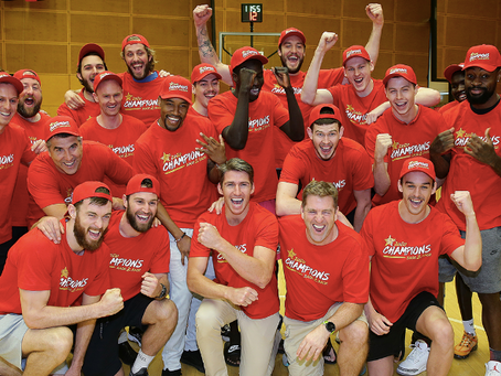 Perth Wildcats win the NBL title