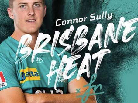 Connor Sully signs with the Heat for BBL10