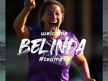 ESA welcomes Belinda Vakawera to the team!