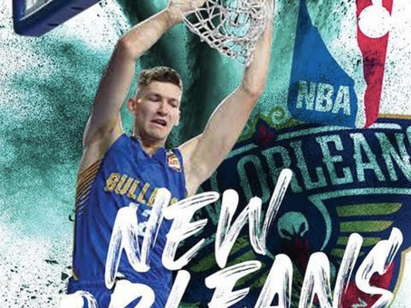 Will Magnay is NBA bound, signing with the New Orleans Pelicans