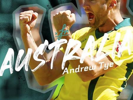 AJ back in the Aus team