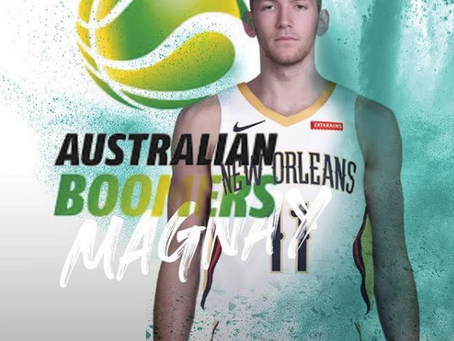 Magnay picked for the Boomers Olympic squad