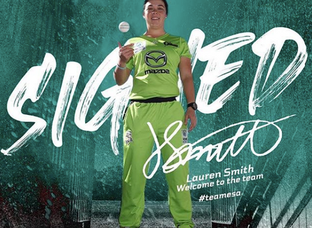 Welcome to the team Lauren Smith