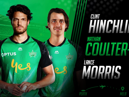 Lance Morris re-signs with Melbourne Stars
