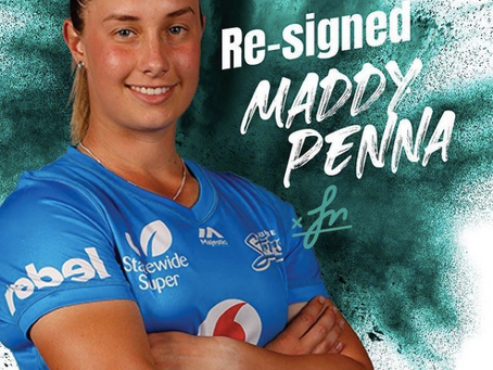 Maddie Penna resigns with the Strikers