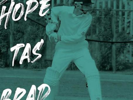Brad Hope signs for Cricket Tasmania