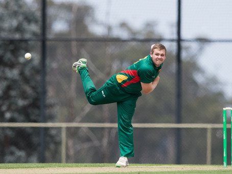 Nath Ellis, Alex Pyecroft and Jarrod Freeman all named in Cricket Tas Marsh Cup Squad