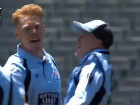 Liam Hatcher debuts for NSW in Marsh Cup