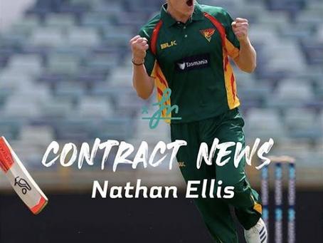 Nath Ellis resigns with Cricket Tas