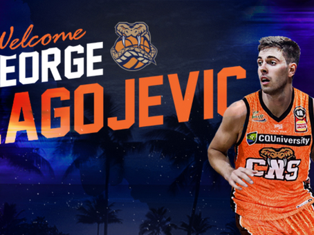 George Blagojevic signs with Cairns Taipans
