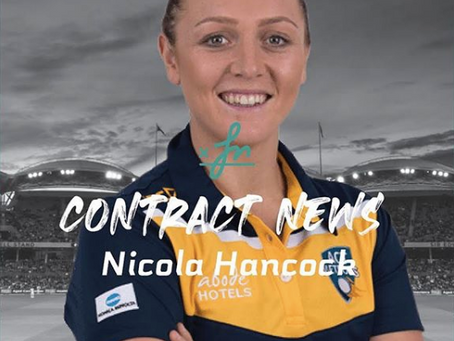 Nic Hancock goes again in the ACT