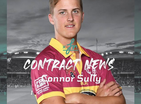 Connor Sully - Contract Extension