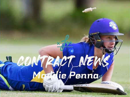 Maddie Penna awarded first full contract in ACT
