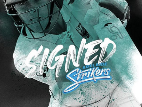 Liam Scott signs with Strikers