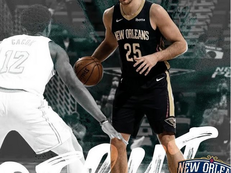 Will Magnay debuts for the New Orleans Pelicans