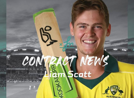 Liam Scott offered SACA contract