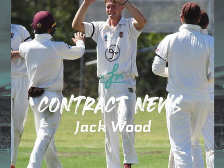 Jack Wood offered Cricket Queensland contract
