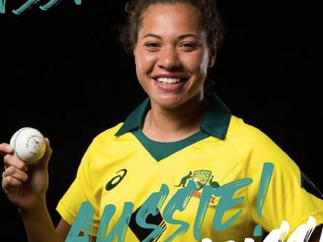 Belinda Vakarewa selected in Aus Team