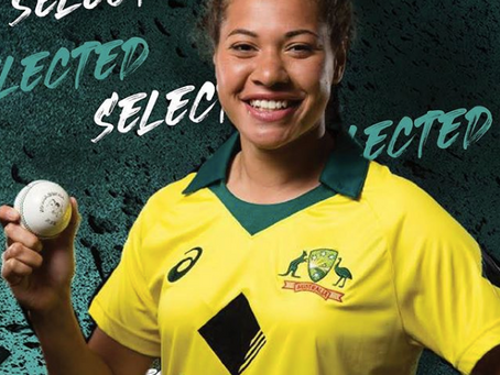 Belinda Vakarewa makes the Australian Squad