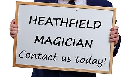 Heathfiel magcian, magician in Heathfield, Children's enertainer Heathfield