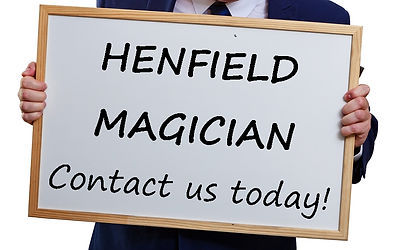 Henfield birthday party, Henfield magic show,