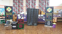 Road safety show Priory Infants School