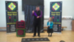 West Sussex road safety magic show, west sussex road safety
