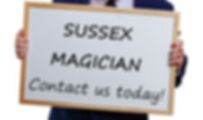 Sussex Magician, West Sussex Magician, Magician in East Sussex, Magic in Sussex