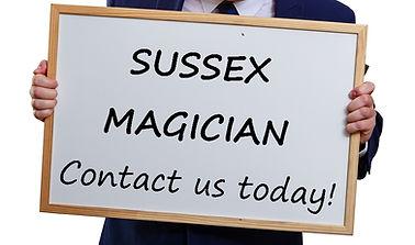 Sussex Magician, West Sussex Magician, Magician in East Sussex, Magic in Sussex