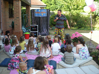 david tricks, children's magician, birthday party