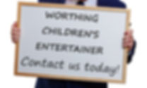 Worthing Children's entertainer, Children's entertainer Worthing, Kid's Entertainer Worthing