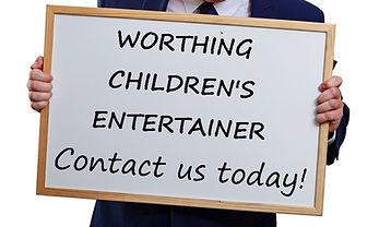 Worthing Children's entertainer, Children's entertainer Worthing, Kid's Entertainer Worthing