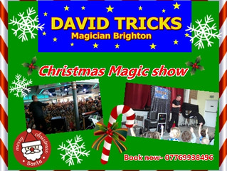 Christmas Parties with Magician Brighton
