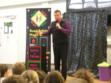Aberdeen Road Safety Magic, Show, Aberdeen magic, Aberdeen Road Safety Show, School Road Safety Show Aberdeen, Aberdeenshire Council and Police Scotland,  Aberdeen City& Shire and Grampian Police