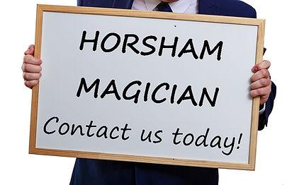 Horsham magician, magician in Horsham, Horsham Children's entertainer, Birthday party Horsham
