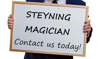 Steyning Maician, Magician in Steyning, Children's entertainer Steyning