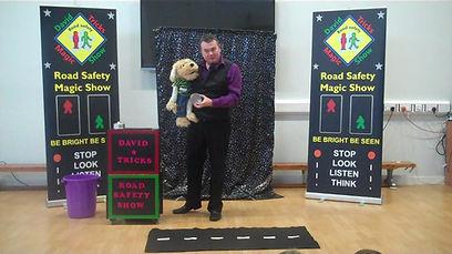 Aberdeen road safety magician, Aberdeen Road Safety Magic show, Aberdeen School road safety show, jrso road safety, magic for school, Aberdeen Road Safety