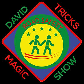 road safety show, road safety magic show, david tricks, london road safety, uk road safety, david tricks road safety show, theatre in education, safety show, road safety magic show,