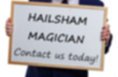 Hailsham birthday party, Hailsham magician