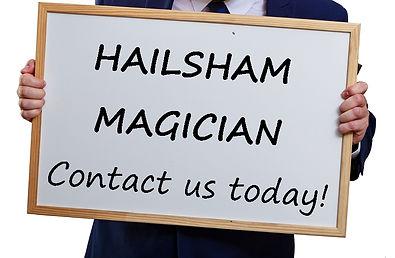 Hailsham birthday party, Hailsham magician