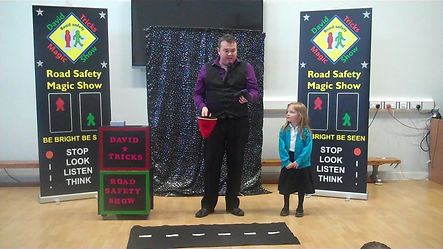 Road Safety Show , David Tricks road safety show
