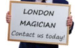 London Magician, Childrens' entertainer London, Magican London