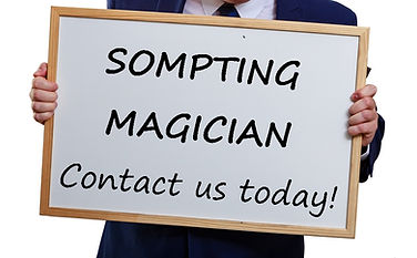 Sompting magician, magician in Sompting, children's entertainer Sompting, magician Sompting