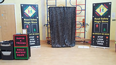 Road safety show Poundhill Infant Academy