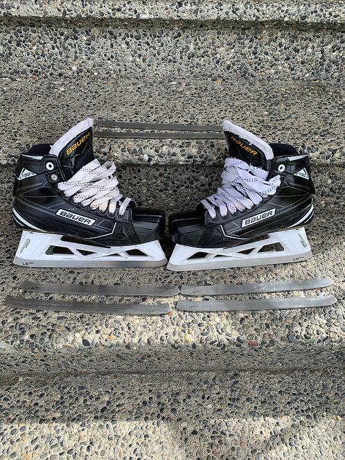 BAUER Skates + 3 extra blades