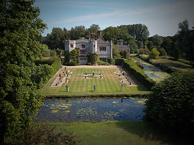 Drone footage of Mannington Hall - Amber's Bell Tens - home of Norfolk and UK Glamping