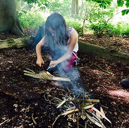Get back to Nature with Style at Amber's Bell Tent Camping - Norfolk and Uk Glamping - Minnows Nature Discovery Days run a Mannington Hal during the half term weeks.