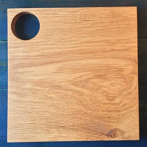 Oak Cutting Board with Corner Hole
